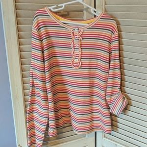Lands End striped top